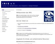 Bild Institut für Rehabilitation und Integration Sehgeschädigter (IRIS) e.V.