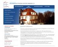 Bild Psychoanalytisches Institut Bremen e.V.