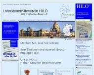 Bild Webseite Lohnsteuerhilfeverein HILO Kolbermoor