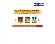 Website Produktionsmanagement für Print und Promotion