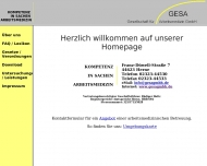 Bild GESA Gesellschaft für Arbeitsmedizin GmbH