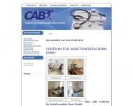 Bild CAB Centrum für Arbeitsmedizin Bonn GmbH