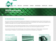 Bild Webseite Gangl Netzwerk Technik München