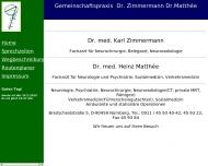 Bild Matthée Heinz Dr.med. Nervenarzt , Zimmermann Dr. Gemeinschaftspraxis