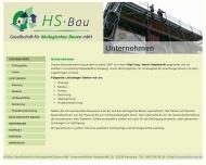 Bild HS-Bau Gesellschaft für ökologisches Bauen mbH