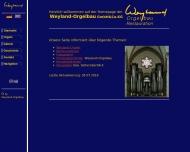 Bild Weyland Orgelbau GmbH u. Co. KG