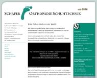 Bild Schäfer Orthopädie und Schuhtechnik