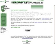 Bild Webseite Kreuser Papier Kerpen