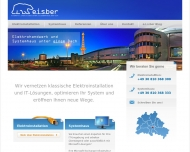Bild Webseite e.i.s.ber Elektro- & IT-Systeme Berlin Verwaltung Berlin