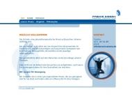 Bild Webseite Giesen Reinigung Köln