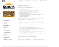 Bild Webseite Schenk Sonnenschutztechnik Feuchtwangen