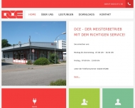 Bild Webseite DCE - Dirk Claasen Elektrik Gesellschaft Wedel
