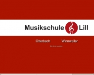 Website Musikschule Lill