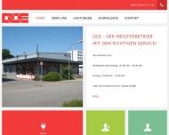 Website DCE - Dirk Claasen Elektrik Gesellschaft
