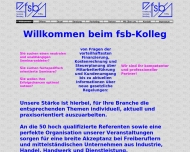 Bild fsb-Kolleg Gesellschaft für Fortbildung, Seminare und Beratung mbH