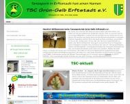 Bild Webseite Tanzsportclub Grün-Gelb Erftstadt Erftstadt