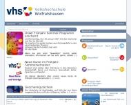 Bild Webseite  Wolfratshausen