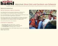 Bild Webseite Atelierhäusl München