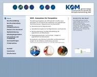 Bild KOM Ges. für berufliche Kompetenzentwicklung mbH