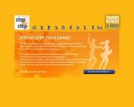 Bild Webseite step by step Tanzschule Konstanz