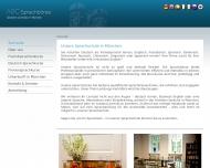 Bild Webseite Sprachbörse München