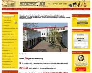 Bild Webseite Musikinstrumente Musikhaus Haas Freiburg im Breisgau