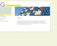 Bild Webseite Grassl Gertraud Hausverwaltung München