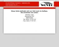 Bild Webseite WOVEG Wohnungsvermietung  u. Verwaltungsgesellschaft Köln