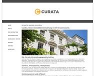 Bild Webseite Curata Wohnungsverwaltungsges. Köln