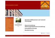 Bild Webseite CW Immobilien Köln