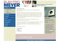 Website Elektro-Meyer