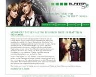 Bild Webseite Modefriseur Blatter München