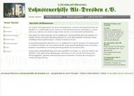 Website Lohnsteuerhilfe Alt Dresden