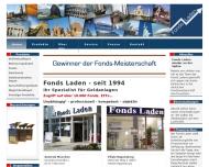 Bild Webseite Fonds Laden Gesellschaft f. Anleger München