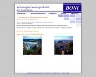Boni Wohnungsverwaltung GmbH - Max Manzenberger