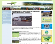 Website Wasserwerk Beckingen