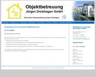 Bild Webseite Drolshagen Jürgen Technische Hausverwaltung Köln