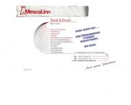 Website Linne Martin Textildruck