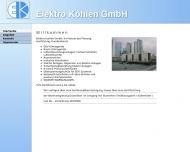 Bild ELEKTRO KOHLEN GmbH