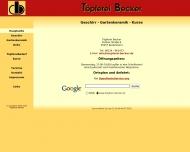 Website Töpferei Barbara Becker