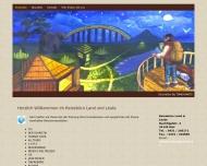Bild Webseite Reisebüro Land und Leute Kiel