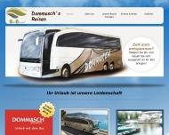 Bild Webseite Dommasch Dieter Reisen Omnibusbetrieb Reisebüro Tangerhütte