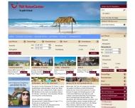Bild Webseite TUI-Reisecenter Flensburg