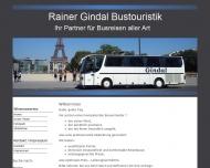 Bild Rainer Gindal Bustouristik GmbH & Co. KG