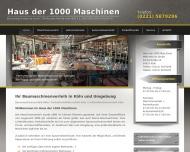 Bild Haus der 1000 Maschinen Mietzentrum GmbH