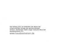 Website SeHHafen Hausboote