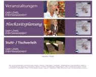 Bild Stuhl und Tischverleih Kiel Gaby Löwel Partyservice