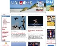 Bild Webseite Nordsee Hamburg