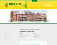 Bild Webseite BAVE Baugeräteverleih Nürnberg