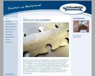 Bild Webseite Johannsen Gebr. Verkaufs- und Service Hamburg